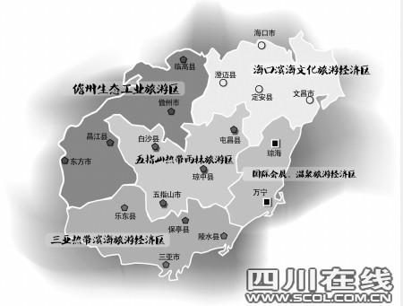 资料图:海南旅游资源