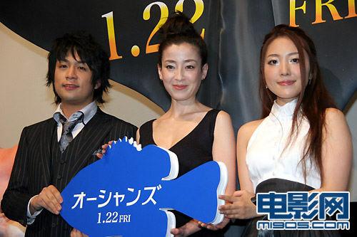 宫泽理惠宣传产后首部作品低胸裙尽现熟女气质-