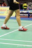 图文:韩国赛正赛首轮战况 猜猜这是谁的脚
