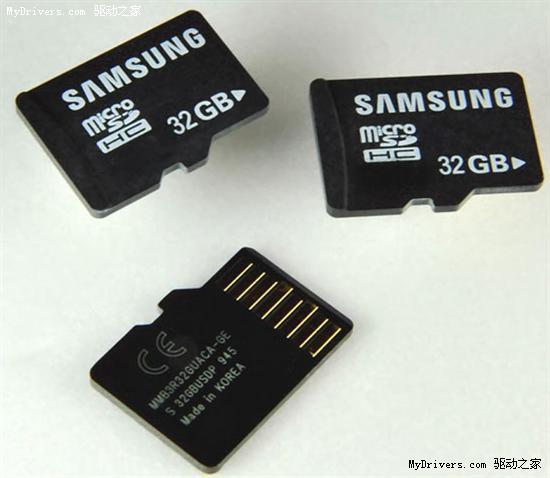 三星发布17层堆叠封装64GB闪存/9层32GB MicroSD卡