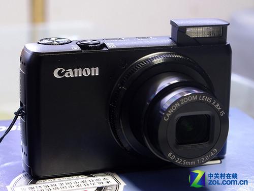 大光圈、大CCD 佳能28mm广角相机S90上市