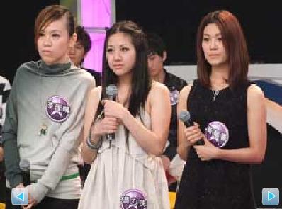 李汇晴(左)和冯力侠(中)、黄郁善(右)被袁惟仁批评是老鼠屎