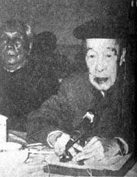 胡愈之当选为民盟中央代理主席