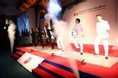 图文:第二届BC卡杯抽签仪式 劲歌热舞表演