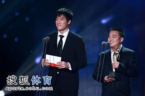 刘翔宣布评选结果