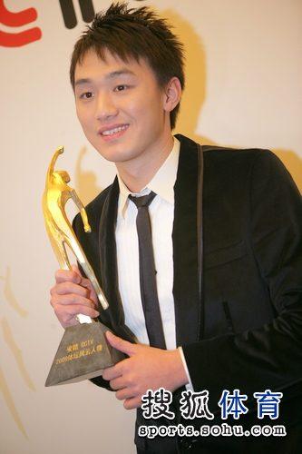 张琳获最佳男运动员奖