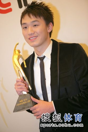 最佳男运动员奖 张琳