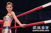 图文:举牌小姐惊艳总决赛赛场 青春可爱迷人