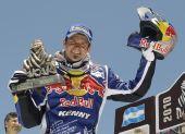 图文:2010达喀尔拉力赛落幕 德普雷庆祝夺冠