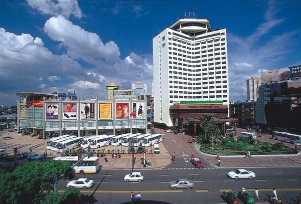 中山国际酒店外景