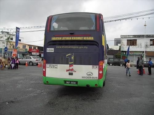 海格客车投入马来西亚国民服务计划运营