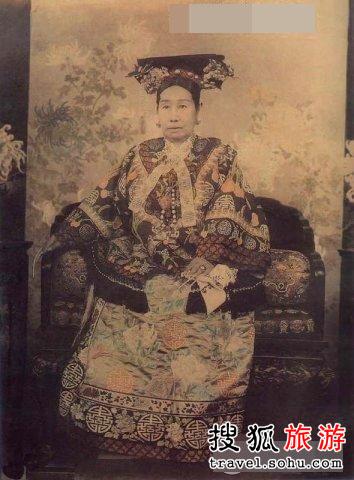 东方女皇声势浩大的葬礼