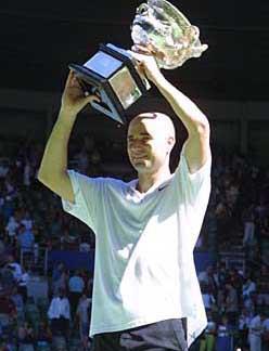 2001年阿加西夺冠