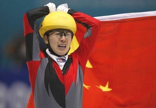 2002年盐湖城冬奥会 杨扬获得中国队首金