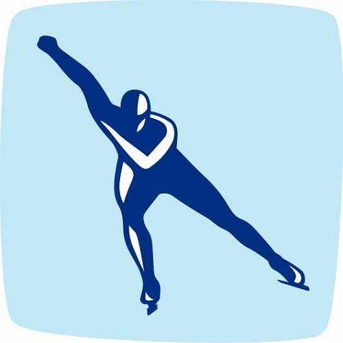 2010年温哥华冬奥会速滑图标