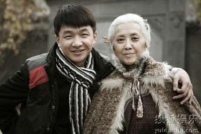 邹俊百与奶奶朱琳