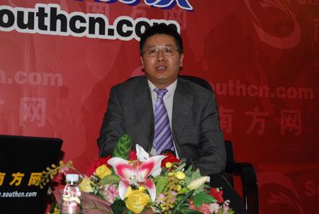 广东省贸促会副会长 省世博办主任白明韶