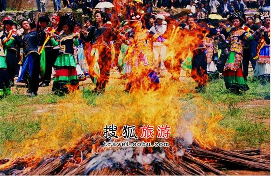 彝族火把节三部曲之献祭