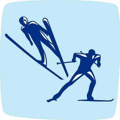 2010年温哥华冬奥会北欧两项项目图标