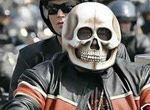 超级雷人的摩托车手头盔