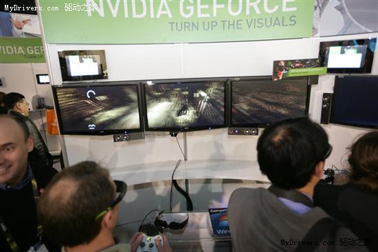 NVIDIA 3D Vision Surround立体多屏技术解析