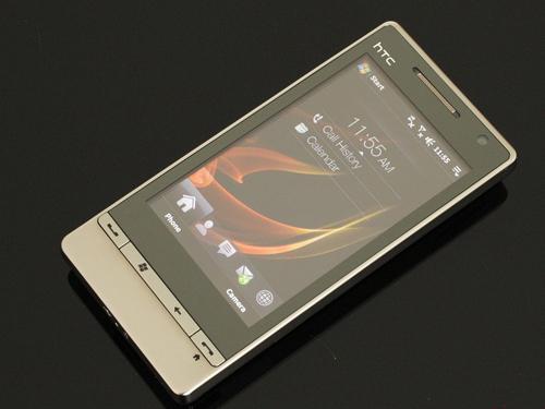 HTC钻石三代曝光 WM7系统720p高清摄像