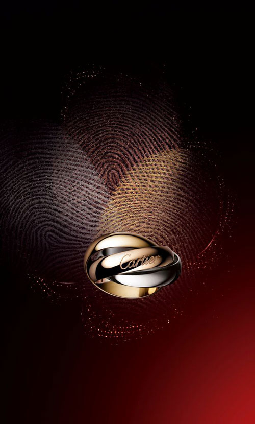 (16) Trinity三色金戒指