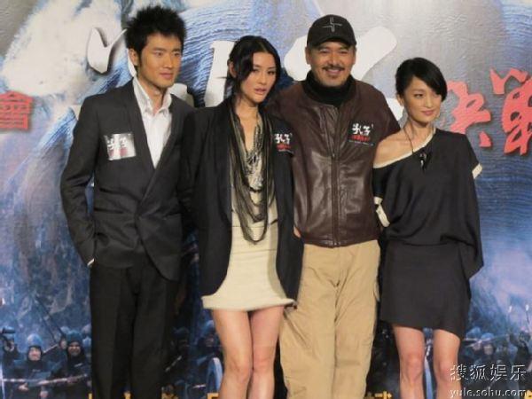 《孔子》主创出席香港首映发布会