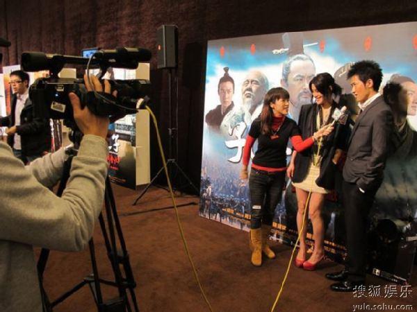 任泉陈瑞接受TVB采访