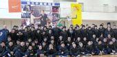 图文:张卫平冬训营开幕 开幕式全家福
