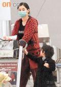 组图:张柏芝怀孕四个月狂吃暴胀 身材变形