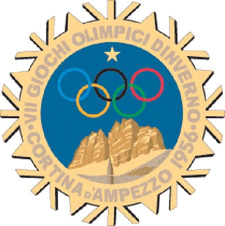 组图:历届冬奥会会徽回顾 五环成不可或缺元素图片
