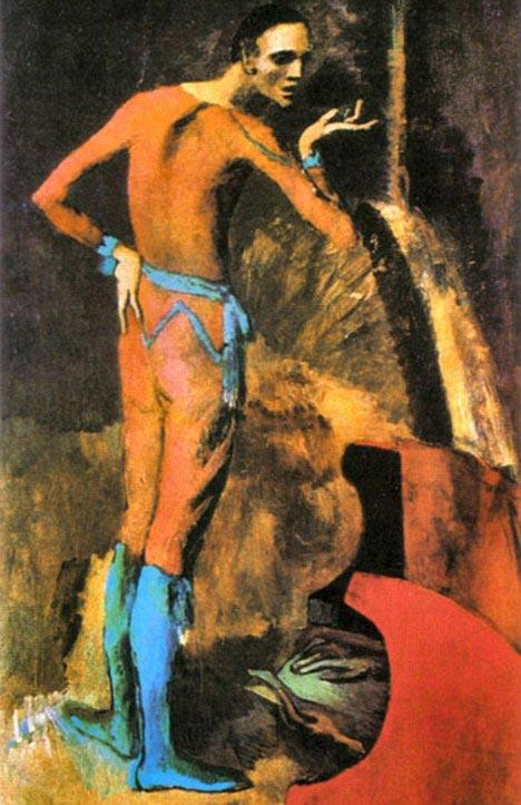 毕加索的名画 演员