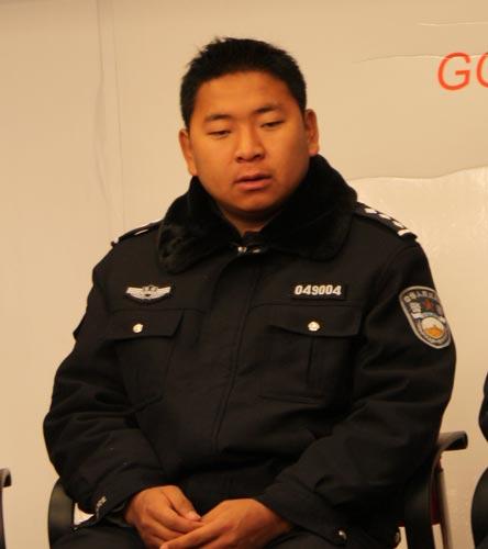 西藏那曲地区林业局森林公安局代表晋美副局长