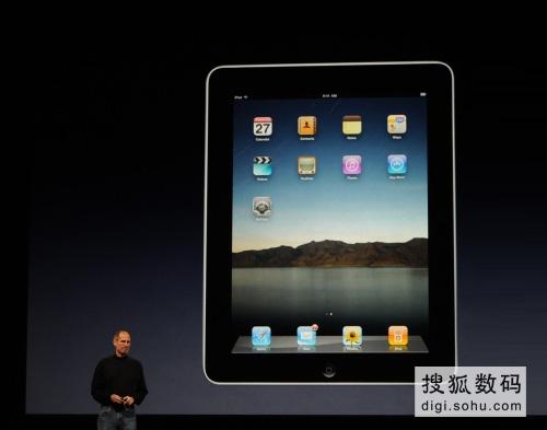 苹果正式发布iPad平板电脑 最低售价499美元