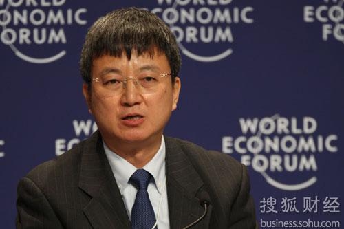 央行副行长朱民 (搜狐-崔萌/摄)