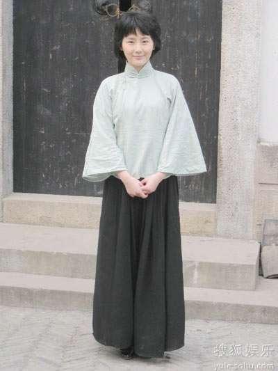 张舒羽饰演杨开慧