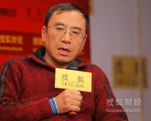 中国土地学会副理事长黄小虎(摄影:李琳琳)