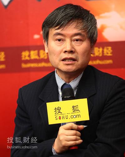 清华大学政治经济学研究中心主任蔡继明(摄影:李琳琳)