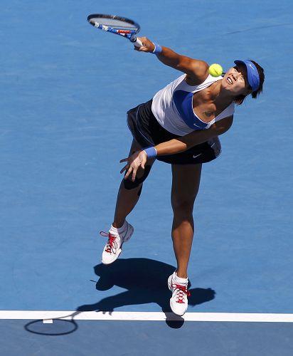李娜刷新澳网女子发球最快纪录