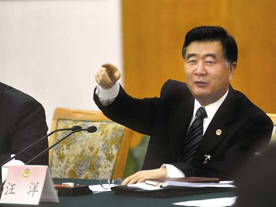 汪洋出席政协代表座谈会:发言踊跃令我深受鼓舞