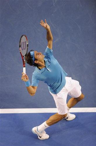 网球挥拍动作手绘图片