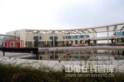 曲谱:通州乒乓球中国v曲谱基地院内挂起气球舞狮图文图片
