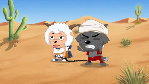 喜羊羊与灰太狼这对冤家首度携手合作