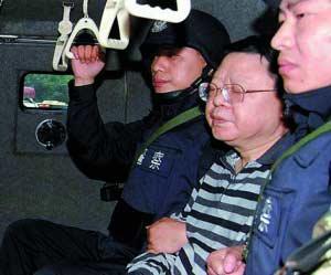 2009年9月,文强被执行逮捕。