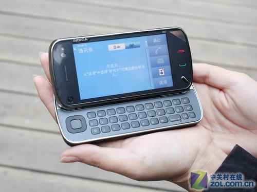 侧滑盖S60触控 诺基亚N97飙升至3400元