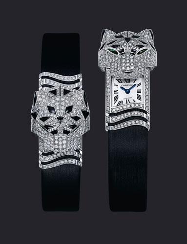 精致创新的卡地亚珠宝腕表作品