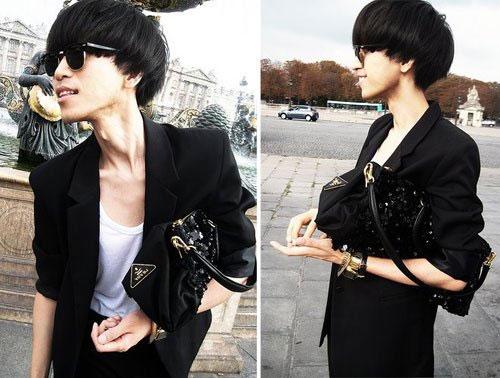 时尚男_潮停2012新款时尚男衬衣修身男士长袖衬衫男