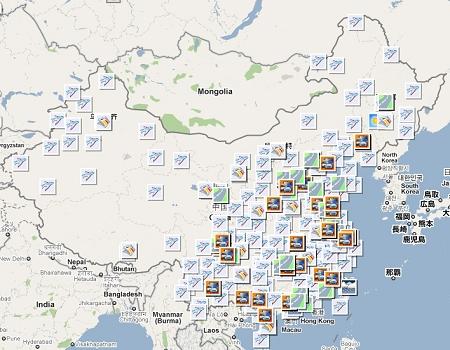 谷歌中国推春运地图避谈退出图片