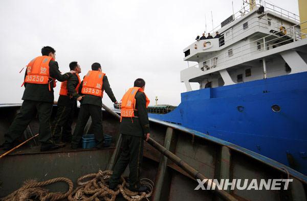 福建一渔船沉没1人死亡6人失踪(组图)